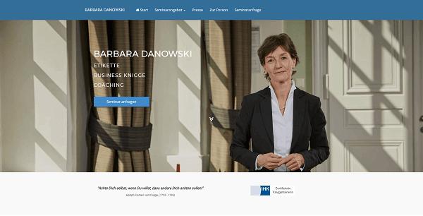Barbara Danowski Website Teaser