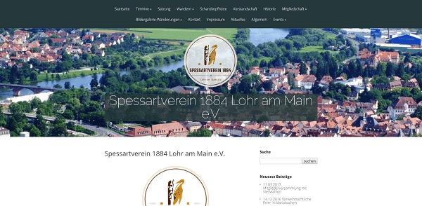 Spessartverein 1884 e.V. Lohr am Main Logo