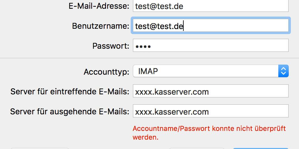 All-Inkl Email Konto einrichten